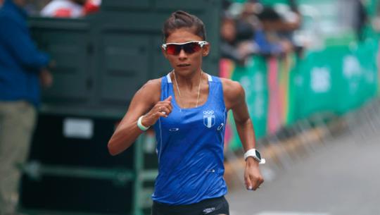 Mirna Ortiz, la tercera mejor marchista de América en el Mundial de Doha 2019