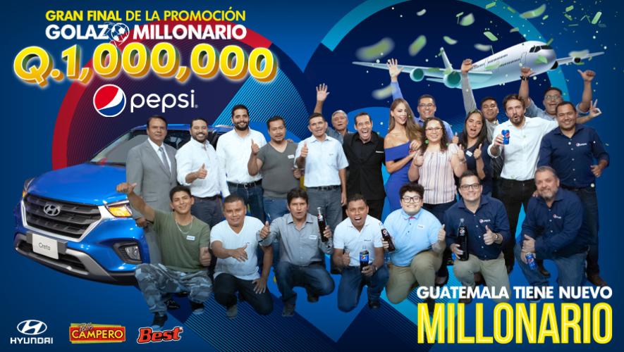 """Guatemalteca es la ganadora del """"Golazo Millonario"""" de Pepsi"""