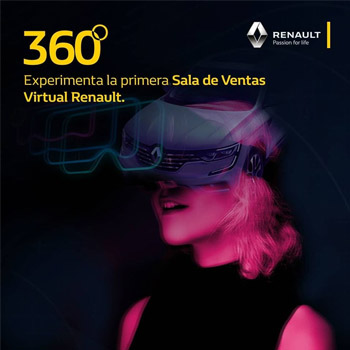 Ya se encuentra disponible en Guatemala el primer tour virtual de Renault