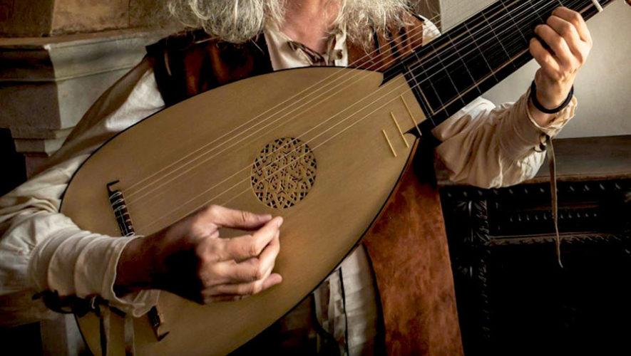 Recital de música medieval en Antigua Guatemala   Septiembre 2019