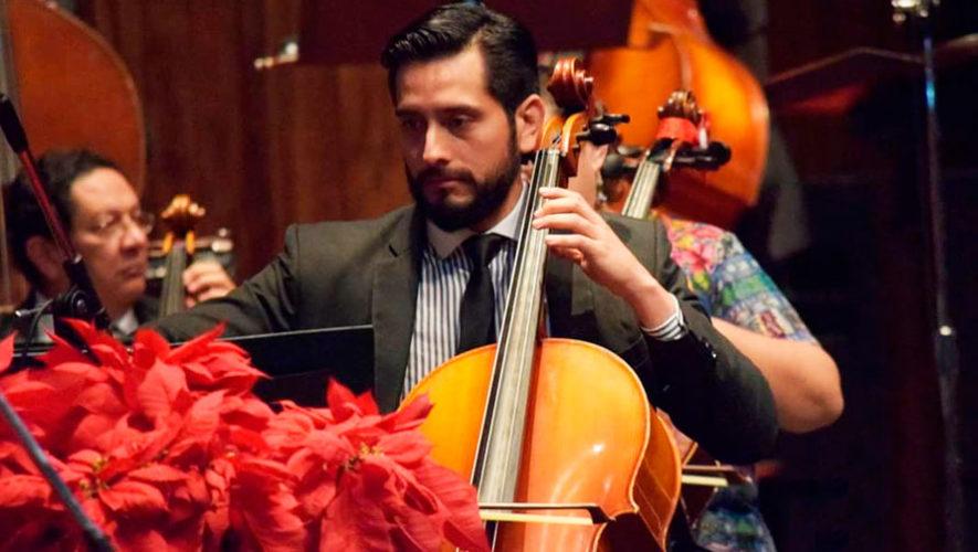 Recital gratuito de chelo con Kenneth Vásquez | Septiembre 2019