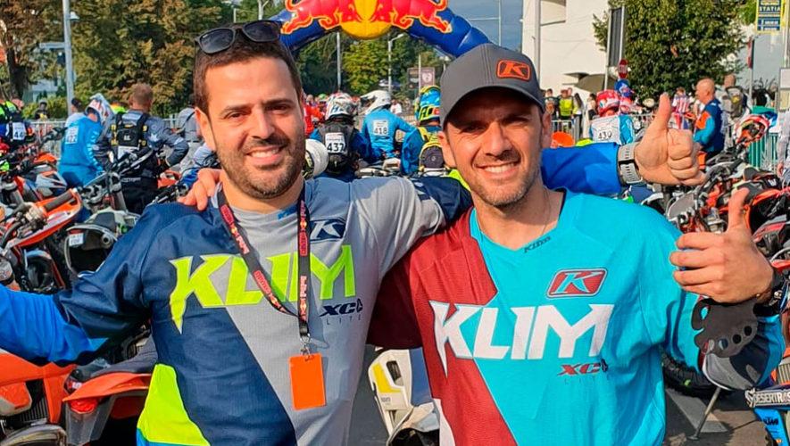 Sebastián Balls y Diego Bauer representaron a Guatemala en el Red Bull Romaniacs 2019