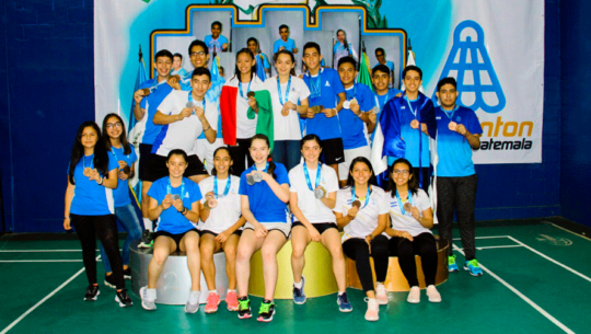 Selección juvenil arrasó con las medallas del VI Guatemala Junior International 2019