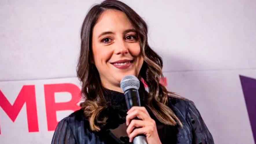 Sofía Niño de Rivera, stand up mexicana, se presentará en Guatemala para el 2019