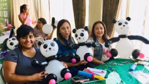 Taller de globoflexia en Zona 10 | Septiembre 2019