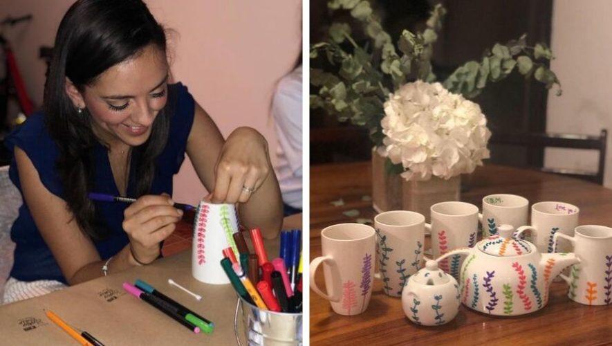 Taller para aprender a personalizar una taza | Octubre 2019