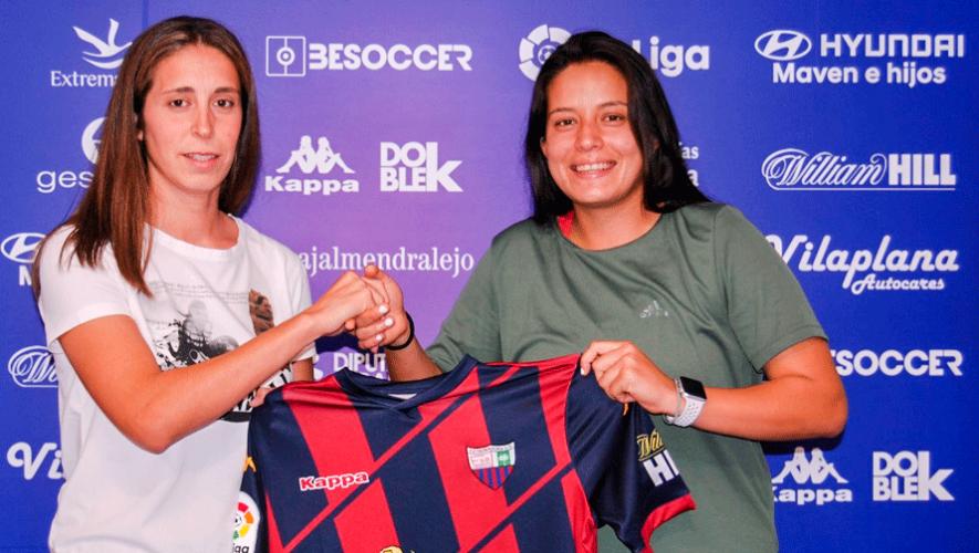 María Monterroso jugará en el Extremadura UD Femenino de España