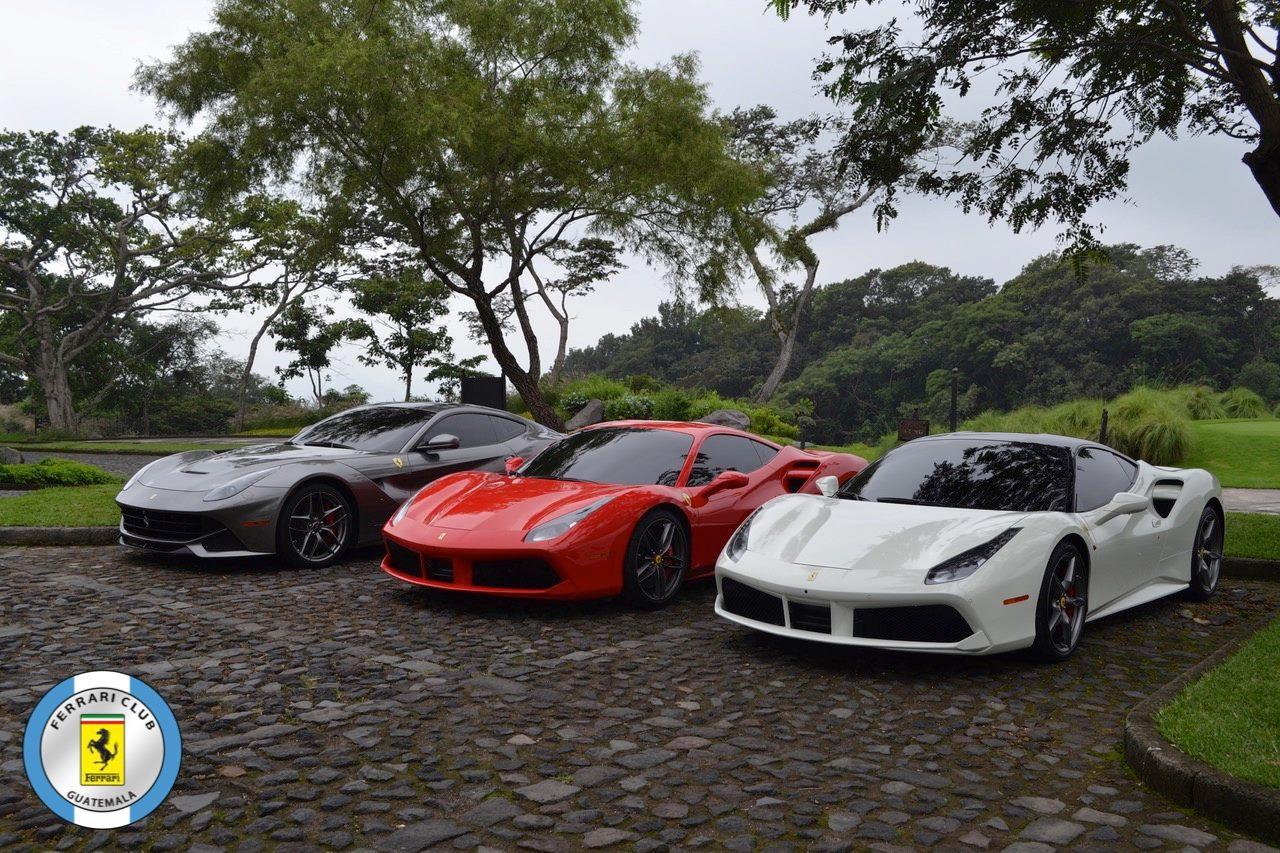 (Foto: Ferrari Club Guatemala)