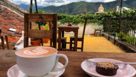 Cafeterías románticas en Antigua Guatemala