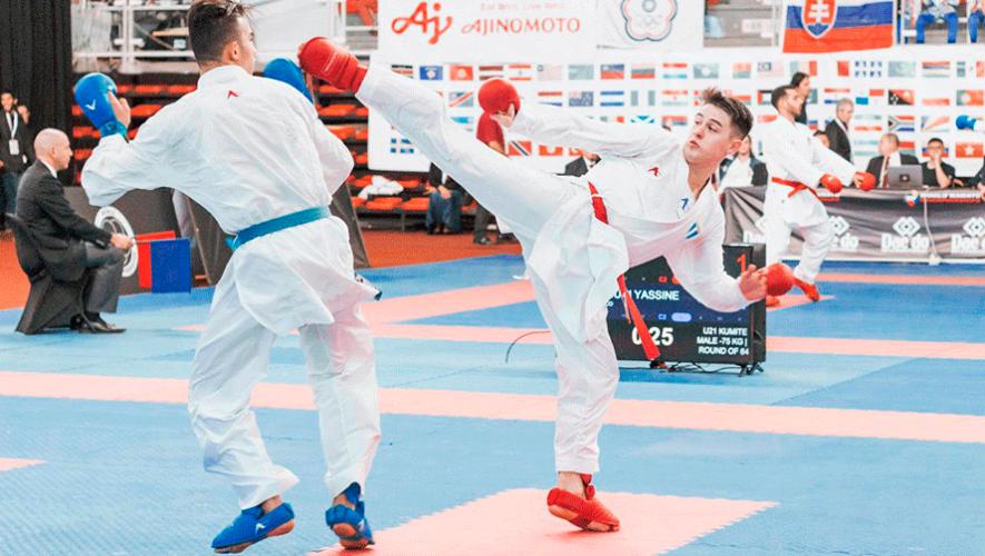 Christian Wever fue el mejor karateca de América de su categoría en el Mundial Juvenil 2019