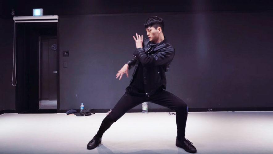 Clase de baile con Jay Kim, coreógrafo desde Corea del Sur   Octubre 2019