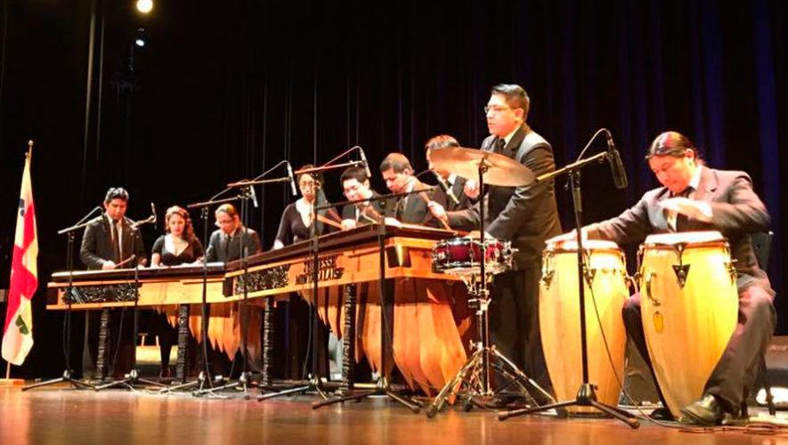 Concierto del Coro Nacional con la Marimba de Bellas Artes en Cobán | Octubre 2019