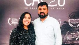Cortometraje de Marvin del Cid ganó premio Daroca y Prisión Film Fest de España 2019
