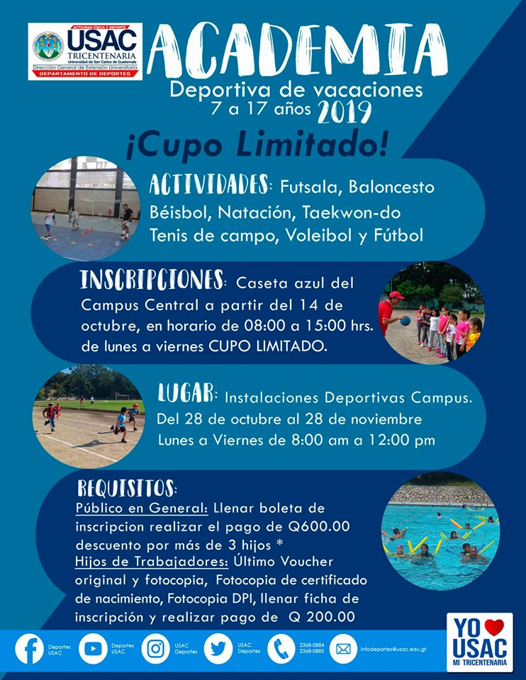 Cursos de vacaciones Guatemala