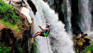 Descenso a rappel en las Cataratas de Los Amates | Octubre 2019