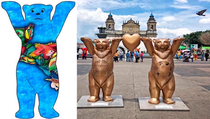 Diseño de guatemalteco fue elegido como el mejor Buddy Bear Centroamericano 2019