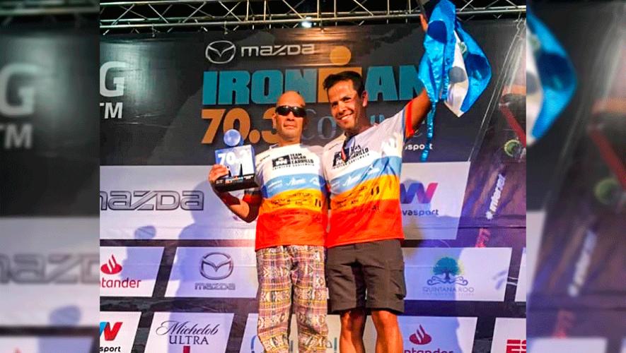 Edgar Carrillo ganó primer lugar en el Ironman 70.3 Cozumel 2019