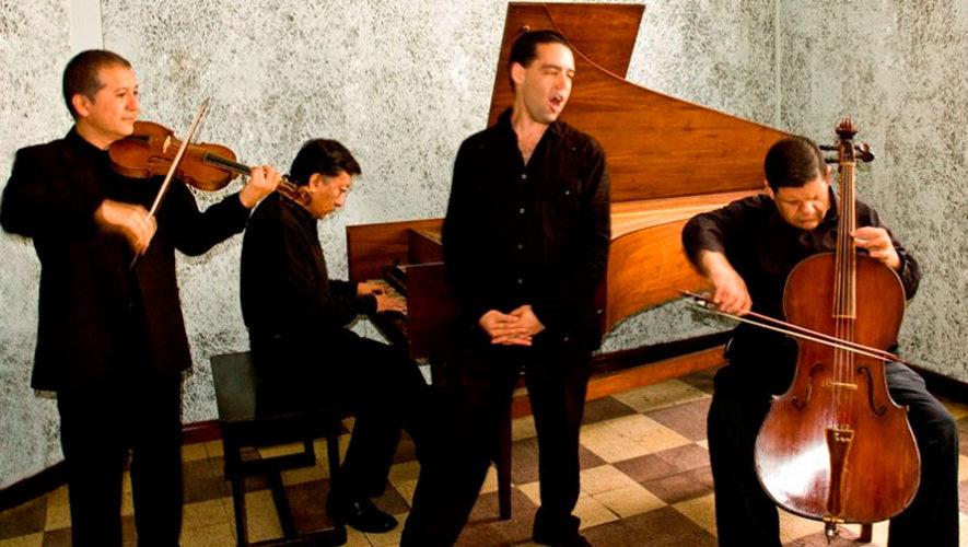 El retorno del contratenor, un recital barroco en Guatemala | Noviembre 2019