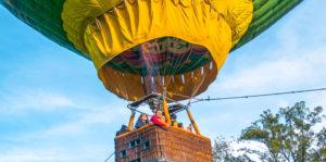 Elevación en globo aerostático en Laguna El Pino | Octubre 2019
