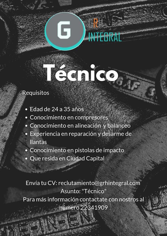 Empleos disponibles en Guatemala