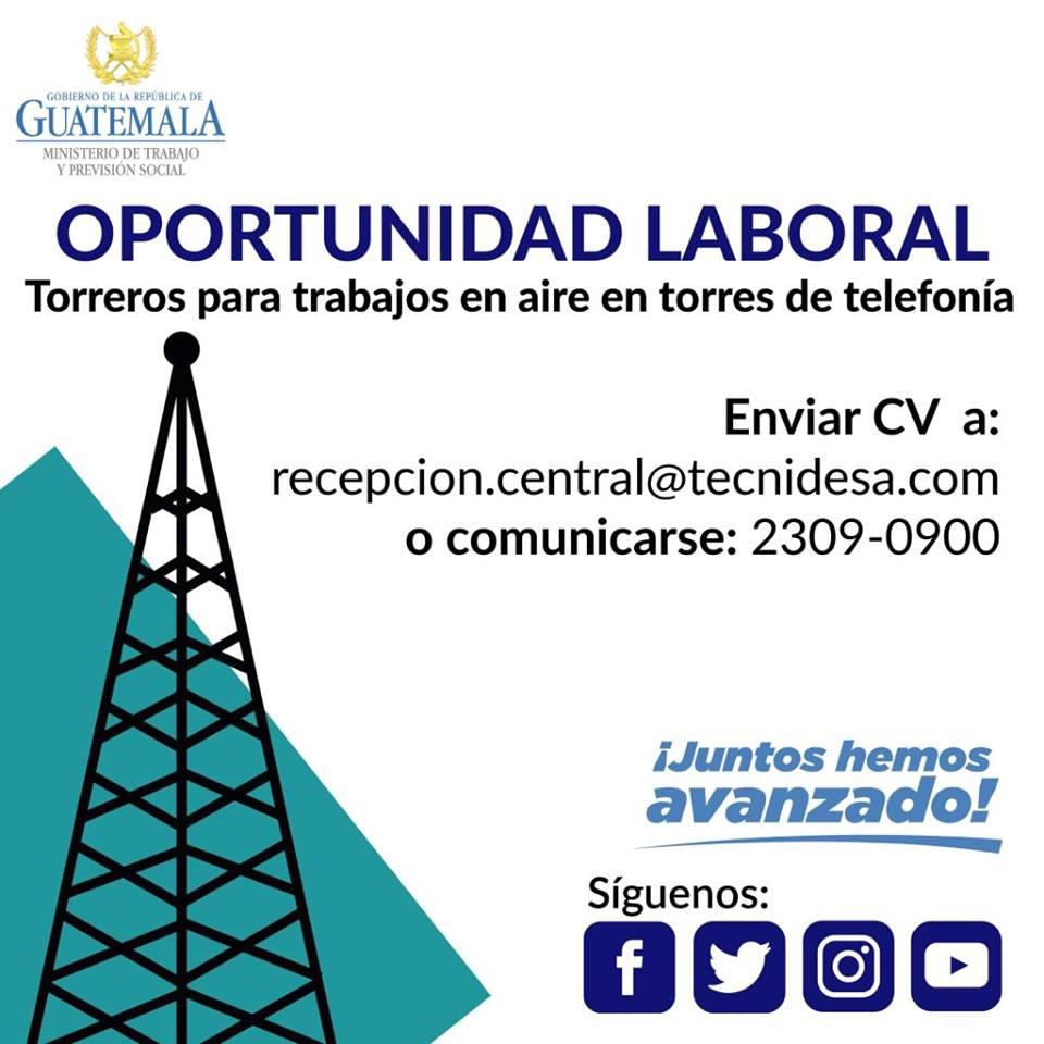 Empleos en la Ciudad de Guatemala
