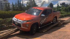 Excel presentó el nuevo pickup Mitsubishi L200, un modelo seguro e innovador para los guatemaltecos