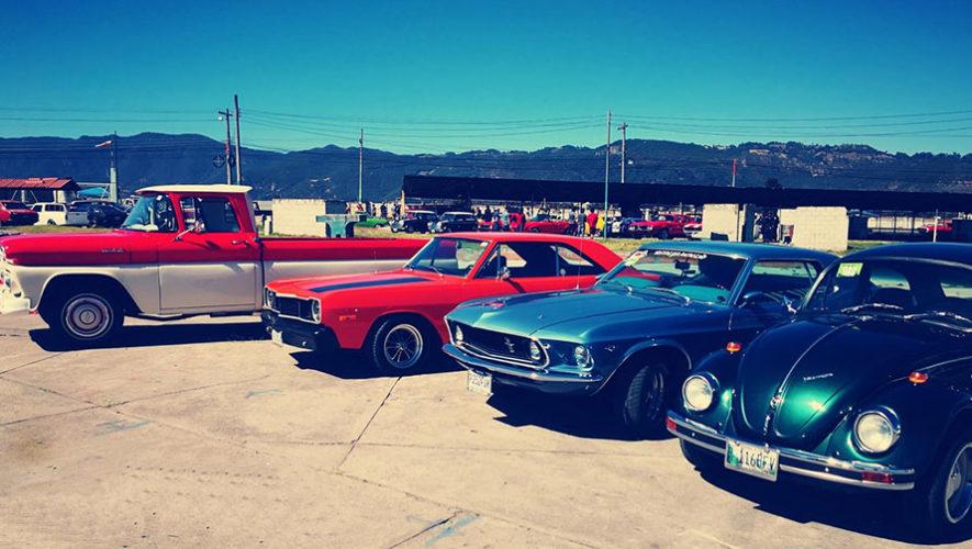 Exhibición de carros clásicos en Quetzaltenango   Noviembre 2019
