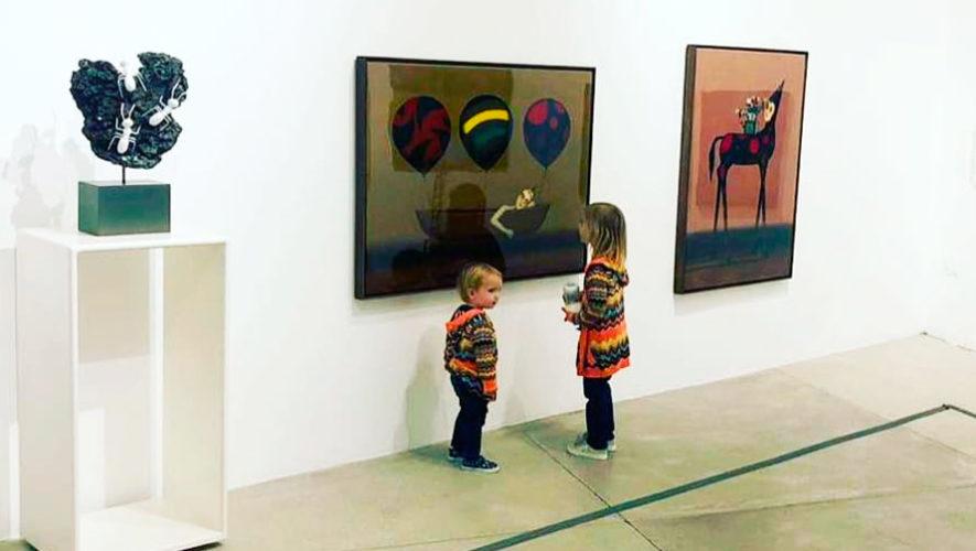 Exposición de arte dedicada a los niños en Guatemala   Octubre - Noviembre 2019