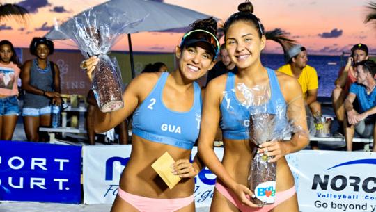Guatemala obtuvo el bronce en la Séptima Parada del Tour NORCECA 2019