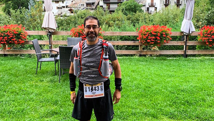 José Lorenzo, el primer guatemalteco en terminar la exigente carrera Tor des Géants 2019