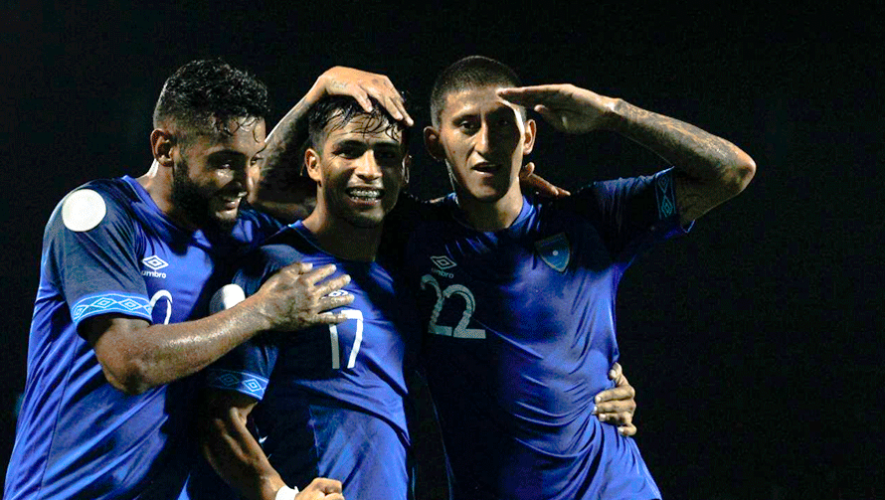 Jugadores convocados de Guatemala para los partidos contra Anguila y Bermudas, octubre 2019
