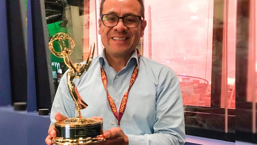 Julio Cisneros, originario de Jutiapa, ganó premio Emmy 2019 por reportaje en Telemundo