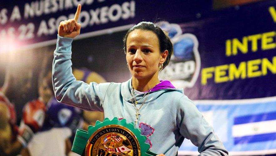 María Micheo retiene el título Internacional Femenil WBC en México