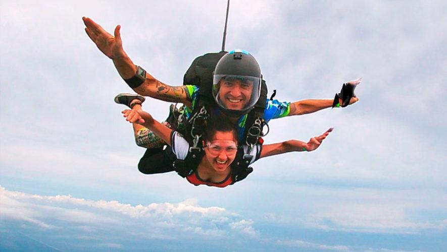 Oportunidad de saltar en paracaídas en Escuintla | Octubre 2019