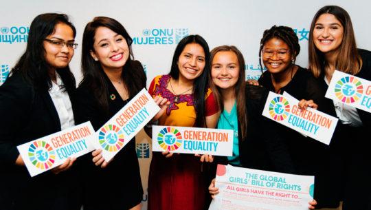 Originaria de Sololá participó en la Declaración de Derechos de las Niñas en la ONU
