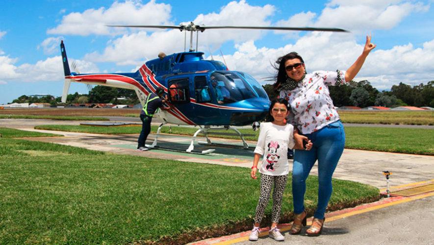 Paseo en helicóptero sobre la Ciudad de Guatemala | Octubre 2019