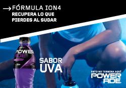 Powerade Uva, bebida hidratante para deportistas