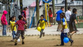 Proyecto Hoodlinks, el programa que motiva a niños guatemaltecos a través del deporte