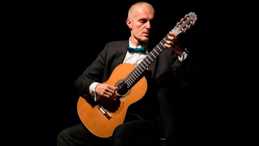 Recital gratuito por el guitarrista italiano Fabio Montomoli en Guatemala | Octubre 2019
