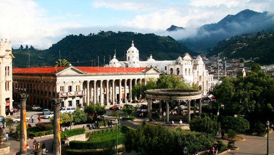 Recorrido histórico en el Parque Central de Xela | Octubre 2019