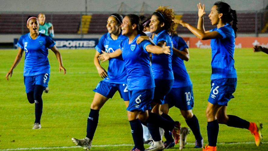 Resultados de Guatemala en la Eliminatoria al Torneo Preolímpico Femenino Concacaf 2019