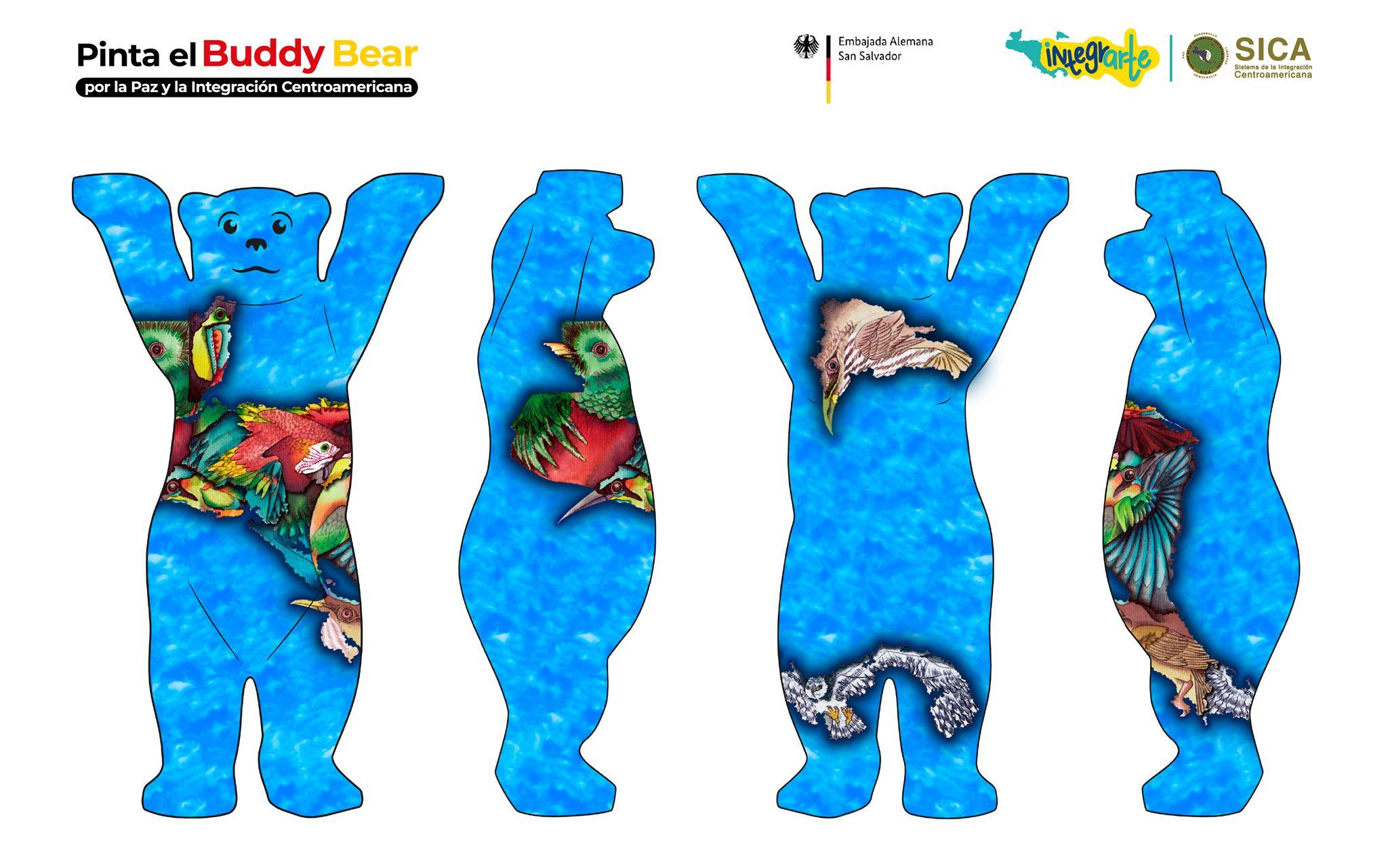 Vota por Guatemala en la competencia por el mejor Buddy Bear de Centroamérica 2019