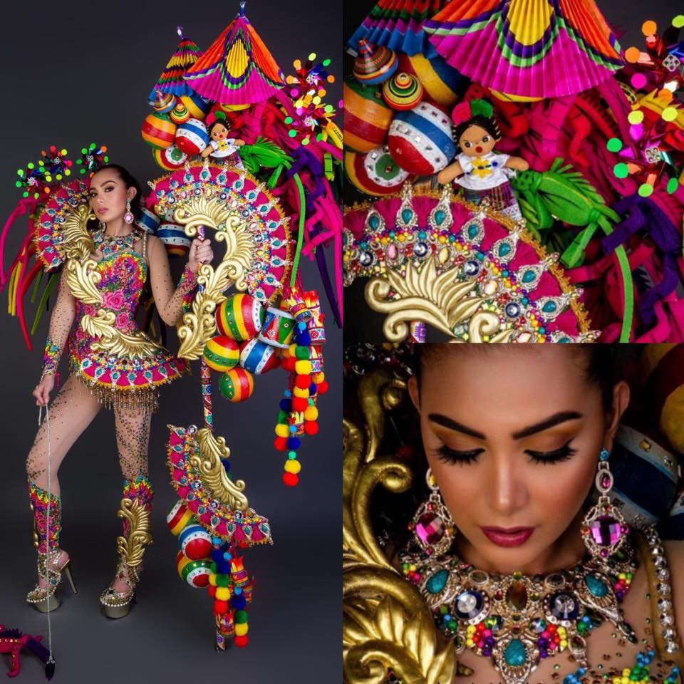 traje de Dannia Guevara en Miss Grand International 2019