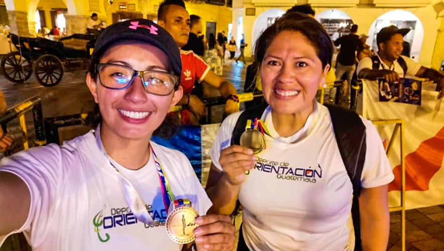4 medallas para Guatemala en el Campeonato Centroamericano y Caribe de Orientación 2019
