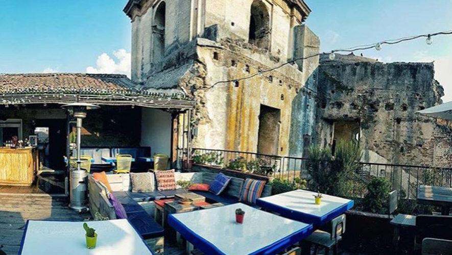 Terrazas para disfrutar de un día soleado en Antigua Guatemala