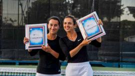 Andrea Weedon y Melissa Morales conquistaron el título del W15 Guatemala 2019