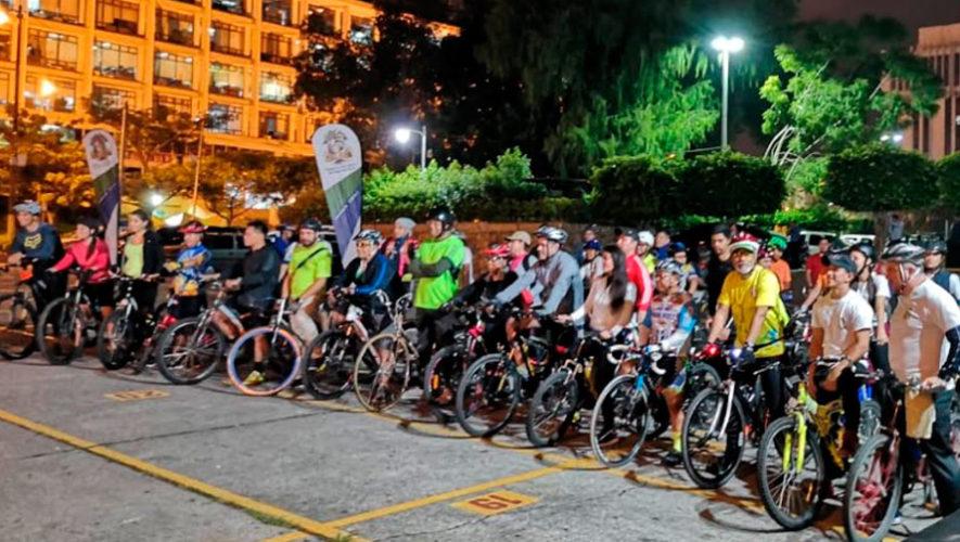 Bicitour nocturno por la Ciudad de Guatemala | Noviembre 2019