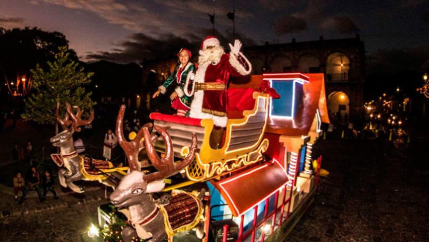 Desfile navideño en Antigua Guatemala | Noviembre 2019