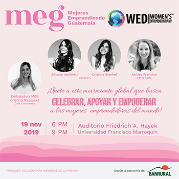 Día Internacional de la Mujer Emprendedora en Guatemala Noviembre 2019