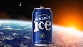 Dorada ICE lanzó al espacio la primera lata de cerveza guatemalteca